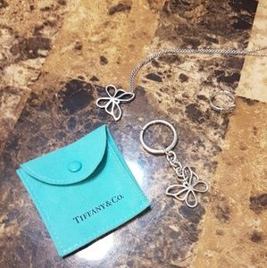 Rare Tiffany & Co Nature Butterly Necklace